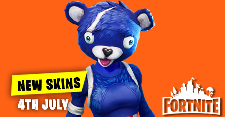 New Skins in Item Shop 4th July