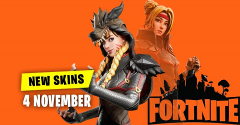 Fortnite Skins Today's Item Shop 4 November 2019