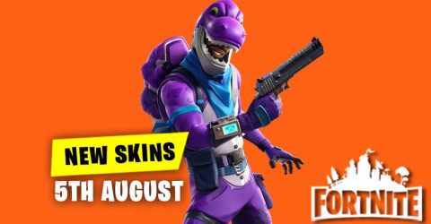 New Skins in Item Shop 5th August