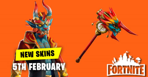 New Skins in Item Shop 5th February
