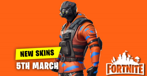 New Skins in Item Shop 5th March