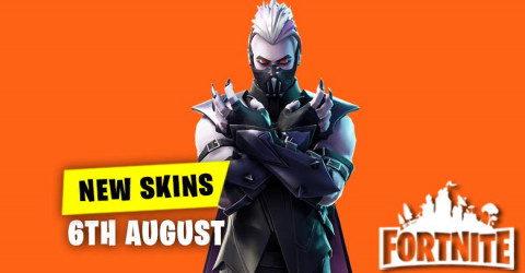 New Skins in Item Shop 6th August