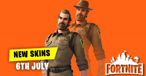 New Skins in Item Shop 6th July