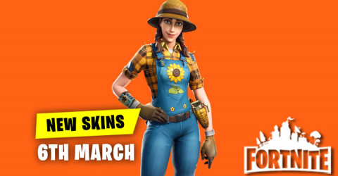 New Skins in Item Shop 6th March