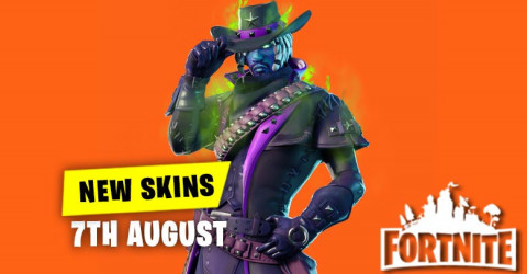 New Skins in Item Shop 7th August