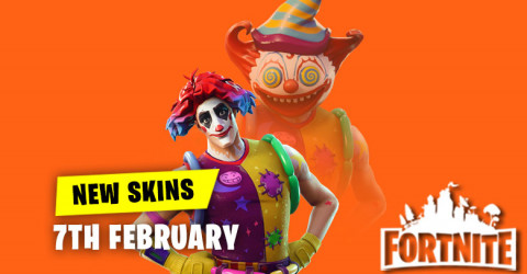 New Skins in Item Shop 7th February