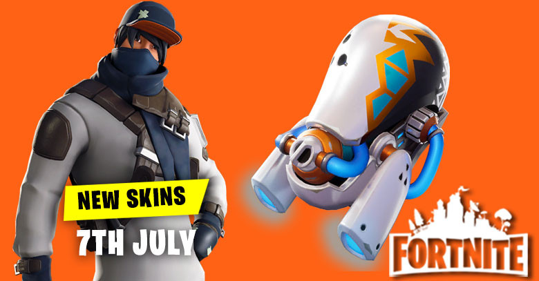 New Skins in Item Shop 7th July