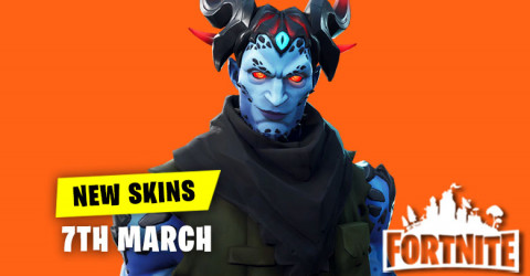 New Skins in Item Shop 7th March