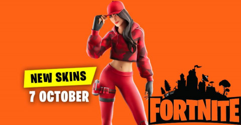 Fortnite Skins Today's Item Shop 7 October 2019