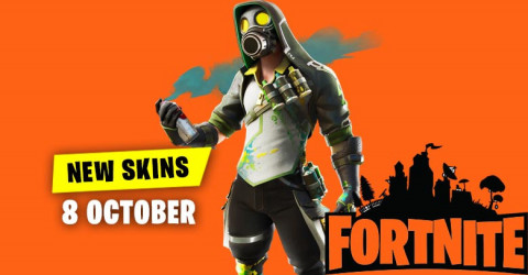 Fortnite Skins Today's Item Shop 8 October 2019