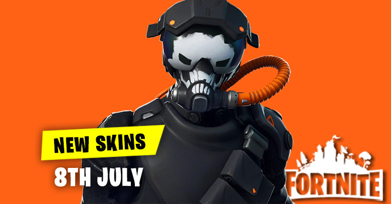 New Skins in Item Shop 8th July