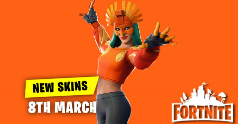 New Skins in Item Shop 8th March