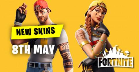 New Skins in Item Shop 8th May