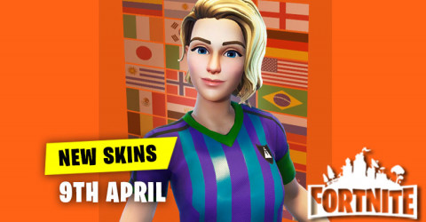 New Skins in Item Shop 9th April