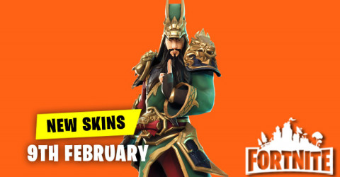 New Skins in Item Shop 9th February