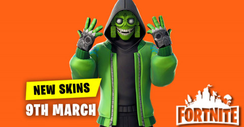 New Skins in Item Shop 9th March