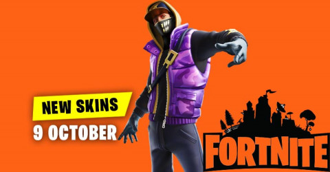 Fortnite Skins Today's Item Shop 9 October 2019