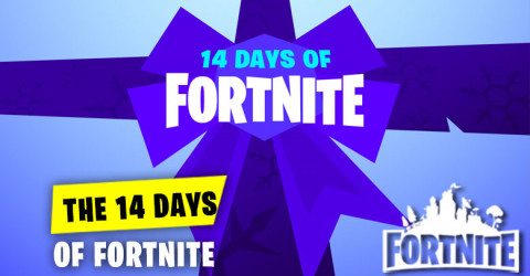 Update on 14 Days of Fortnite