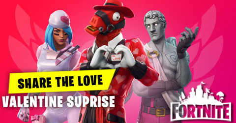 Share The Love Valentine's Surprise