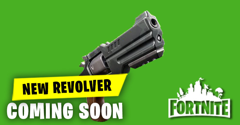 New Revolver Coming Soon to Fortnite