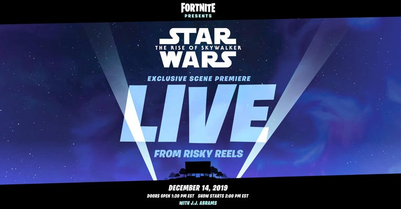 The Rise Of Skywalker | Fortnite - zilliongamer