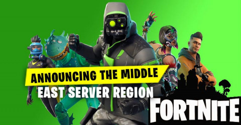 Fortnite Announcing The Middle East Server Region