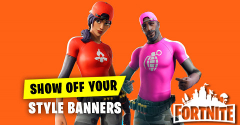 Show Off Your Style - Banners