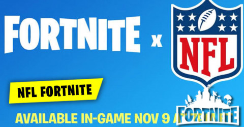 NFL is coming to Fortnite on November 9th
