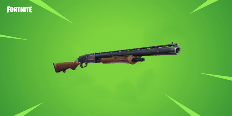 Uncommon Pump Shotgun | Fortnite - zilliongamer