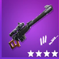 Automatic Sniper Rifle Epic | Fortnite - zilliongamer