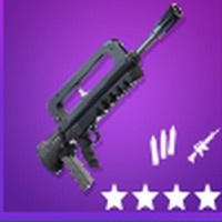 Burst Assault Rifle Epic | Fortnite - zilliongamer