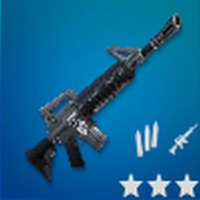 Assault Rifle M4 Rare | Fortnite - zilliongamer