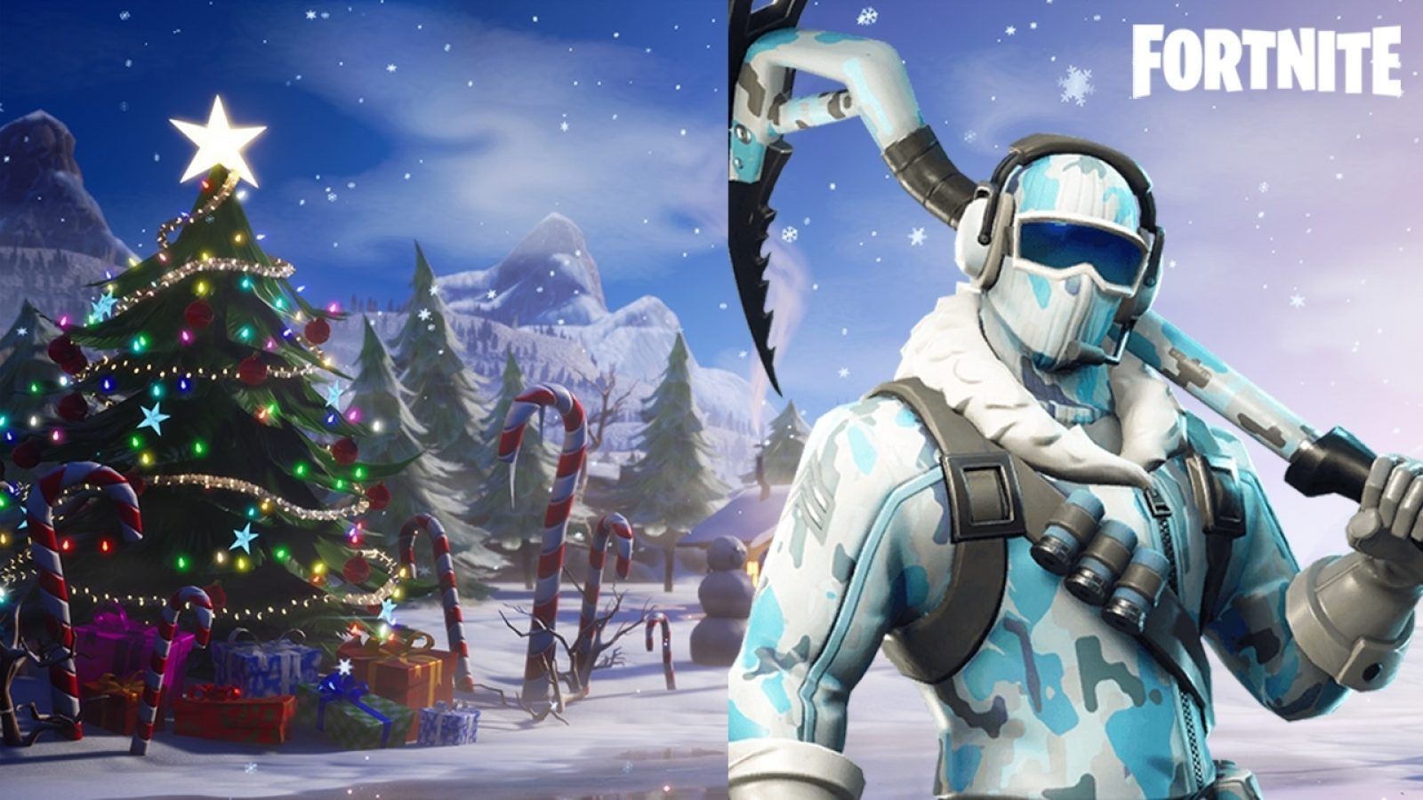 Snow is Coming into Fortnite Spawn islands | Fortnite - zilliongamer
