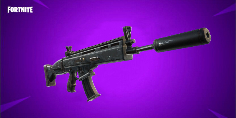 Epic Suppressed Scar | Fortnite - zilliongamer