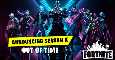 Announcing Season X - Out Of Time