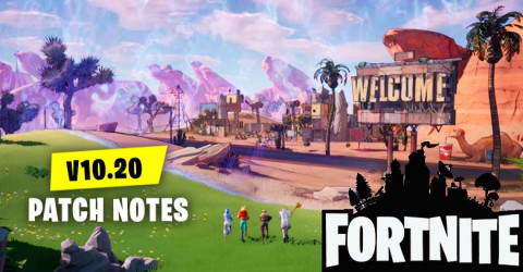 Fortnite Patch Notes v10.20