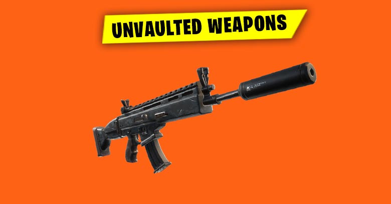 Unvaulted Weapons | Fortnite - zilliongamer