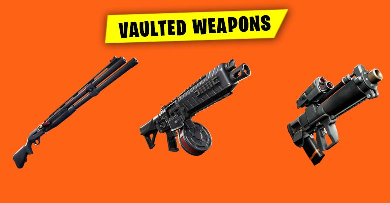 Vaulted Weapons | Fortnite - zilliongamer