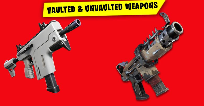 Vaulted & Unvaulted Weapons | Fortnite - zilliongamer
