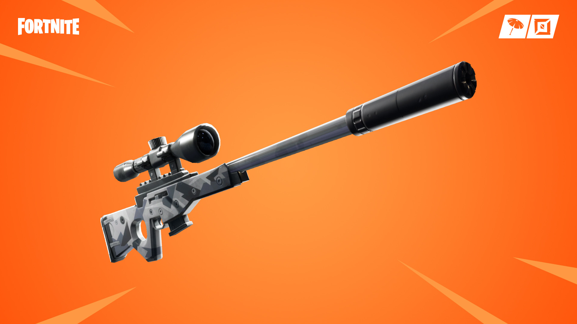 Suppressed Sniper Rifle | Fortnite - zilliongamer