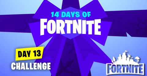 Day 13 Challenge in 14 Days of Fortnite