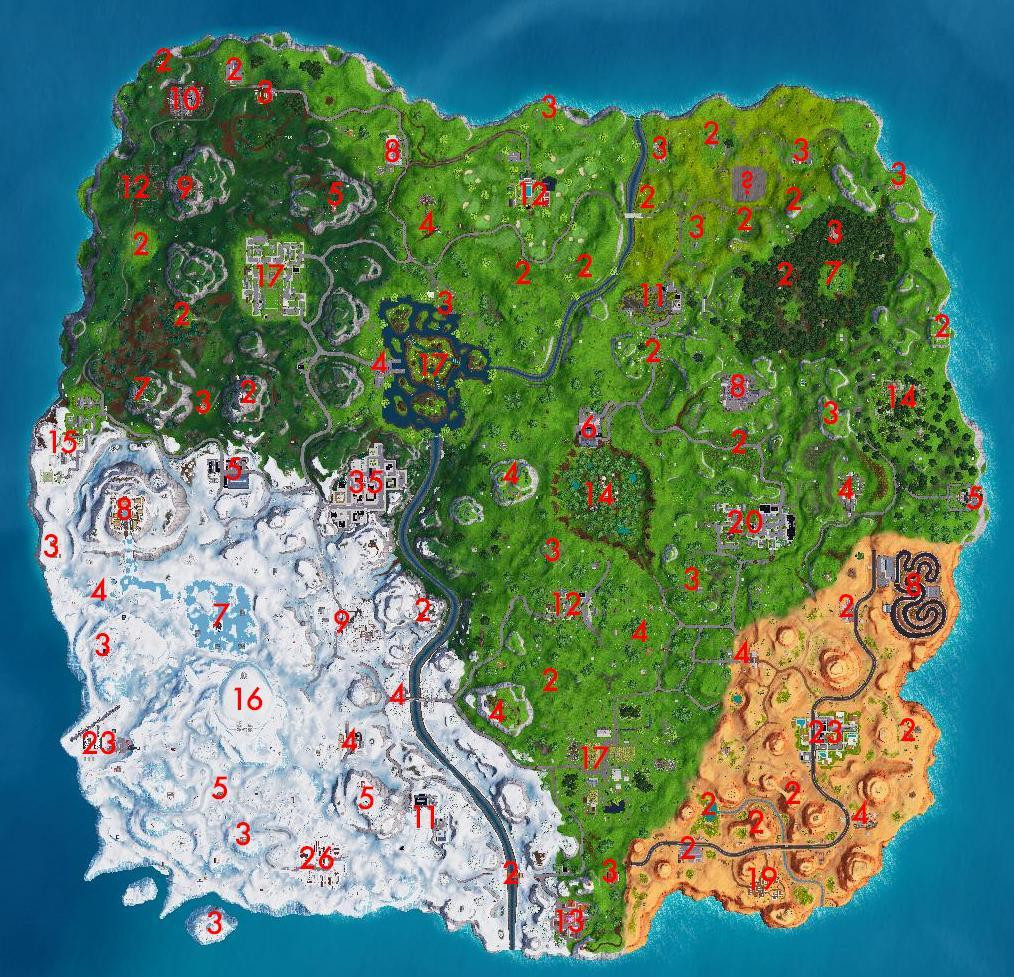 Day 14 Chest Location | Fortnite - zilliongamer