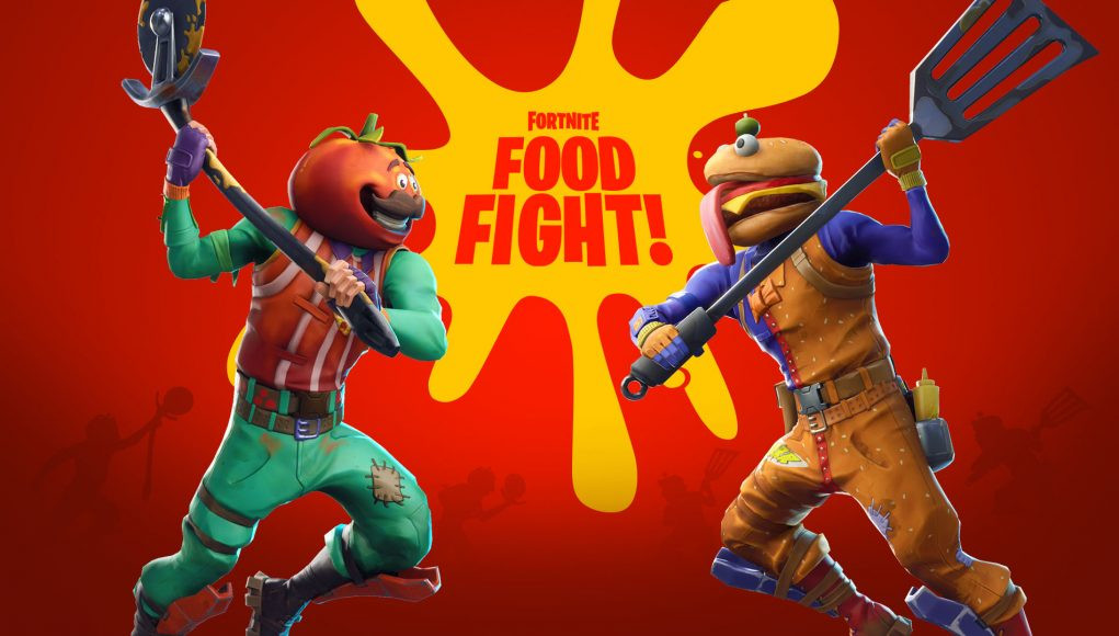 The Food Fight Mode | Fortnite - zilliongamer