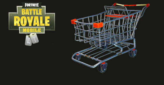 Shopping Cart Vehicle | Fortnite - zilliongamer