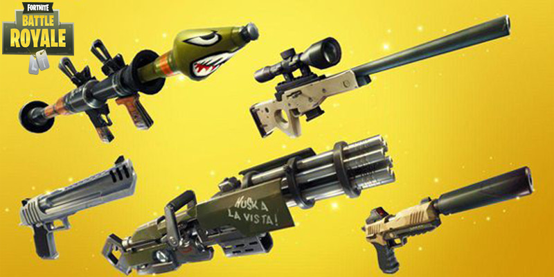 Weapons Guide | Fortnite - zilliongamer