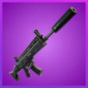 Epic Suppressed Scar Assault Rifle | Fortnite - zilliongamer
