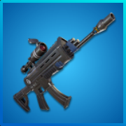 Rare Scope Assault Rifle | Fortnite - zilliongamer