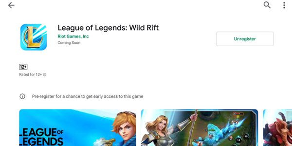League of Legends Wild Rift on Android - zilliongamer
