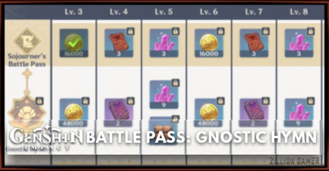 Genshin Impact Battle Pass: Gnostic Hymn Rewards, Price, and BP Bounty