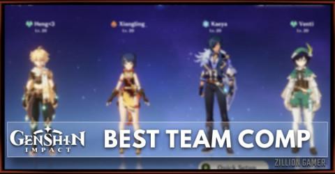 Best Team Comp In Genshin Impact